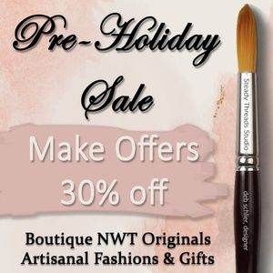 Pre-Holiday Sale 30% Offers Accepted